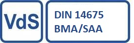 Teldanet GmbH: Siegel VdS DIN 14675 BMA/SAA