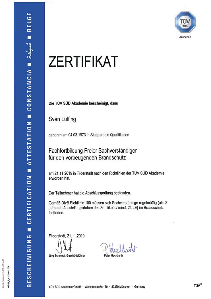 Teldanet GmbH: Unternehmen Zertifikat Fachfortbildung Sachverständiger